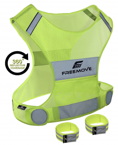 Freemove Reflective Vest for Running and Cycling