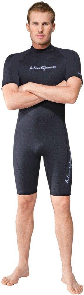 Neo Sport Wetsuits Mens Premium Neoprene 3mm Shorty