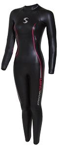 Synergy Endorphin Women's Fullsleeve Smoothskin Neoprene Open Water Triathlon Wetsuit