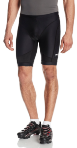 TYR Sport Men's Sport Competitor 9-Inch Tri Compression Shorts