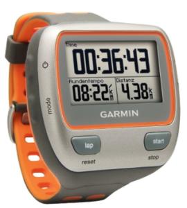 Garmin Forerunner 310XT Triathlong GPS watch Waterproof USB Stick and Heart Rate Monitor, Gray:Orange