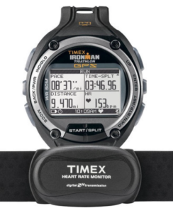 Timex Global Trainer Speed and Distance with Heart Rate Sport Triathlon GPS Watch