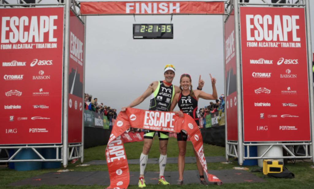 Escape from Alcatraz Triathlon event 2016