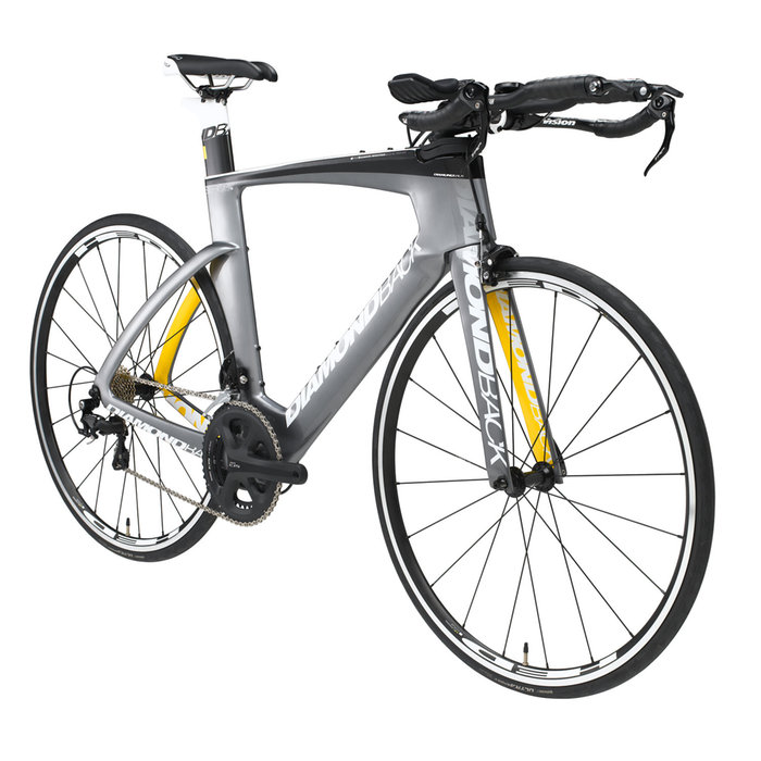 Diamondback Serios S Triathlon:Time Trial Road Bike - 2016