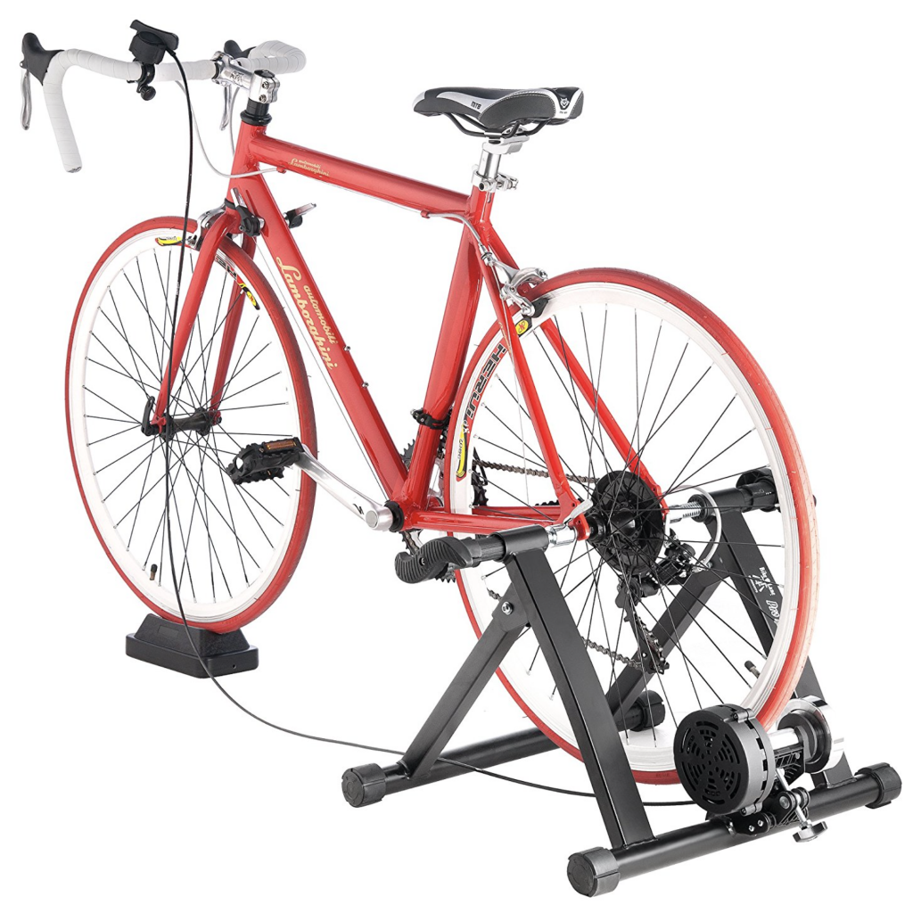 Bike Lane Pro Trainer Bicycle Indoor Trainer Exercise Machine with road race bike